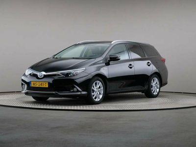 tweedehands Toyota Auris 1.8 Hybrid Lease pro, Automaat, LED, Leder, Navigatie, Panoramadak