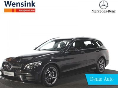 tweedehands Mercedes 200 C-KLASSE EstateBusiness Solution AMG   Panorama-schuifdak   Stoelverwarming   Parkeerpakket