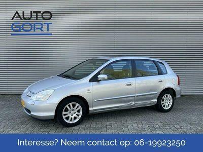 tweedehands Honda Civic 1.6i ES   Airco   5 Deurs   APK 04-2022   Inruilkoopje!