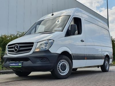 tweedehands Mercedes Sprinter 316 cdi, lang, hoog.