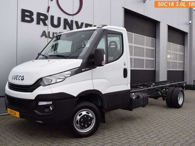 tweedehands Iveco Daily 50C18 3.0 180pk Euro 6, NIEUW!! wb 435cm, Chassis