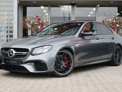 tweedehands Mercedes E63 AMG S 4Matic+ Performance stoelen, Carbon in/exterieur
