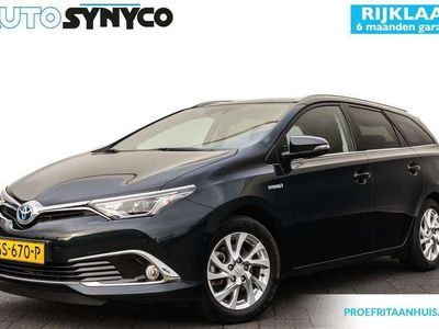 tweedehands Toyota Auris Touring Sports 1.8 Hybrid Lease pro | Leder | Pano