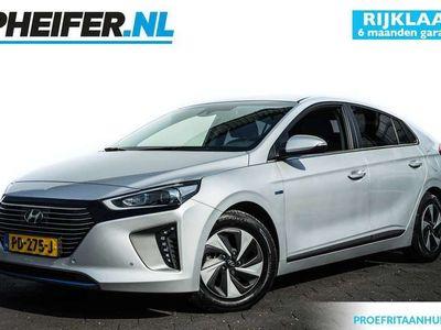 tweedehands Hyundai Ioniq  1.6 GDi Hybrid Premium Schuifdak/ Lederen int./ Stoelverwarming/ Camera/ Stuurverwarming/ Navigatie