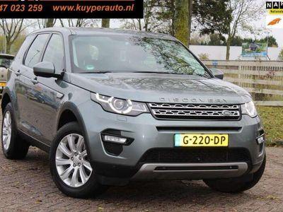 tweedehands Land Rover Discovery Sport 2.2 TD4 4WD HSE 375€ PER MAAND dealer onderhouden