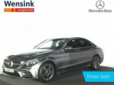 tweedehands Mercedes C180 Business Solution AMG | Dodehoek Assistent | Digitaal Display | Afneembare Trekhaak | LED High-Performance | Achteruitrijcamera | Privacy Glass | Spiegelpakket |