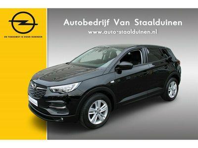 tweedehands Opel Grandland X 1.2 Turbo Online Edition Navigatie| 17 inch velgen| Cruise Controle| Parkeer sensoren v+a