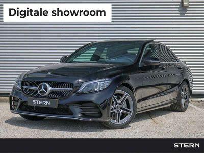 tweedehands Mercedes C180 C-KlasseLimousine Automaat AMG Line | Panoramadak | Sfeerverlichting | Stoelverwarming