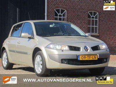 tweedehands Renault Mégane 1.6-16V Tech Line cruise/clima/navi/incl.garantie