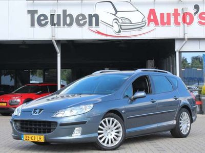 tweedehands Peugeot 407 SW 2.0 HDiF XT Euro 4 airco, climate control, radi