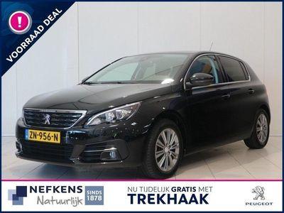 tweedehands Peugeot 308 1.2 130 pk Blue Lease Premium | NAVIGATIE| CAMERA| TREKHAAK