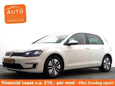 tweedehands VW e-Golf GP E -Edition 100% Elektrisch - € 2000- Subsidie !
