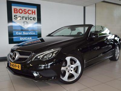 tweedehands Mercedes 200 E-KLASSE CabrioletPrestige Sport Edition Automaat, Navigatie