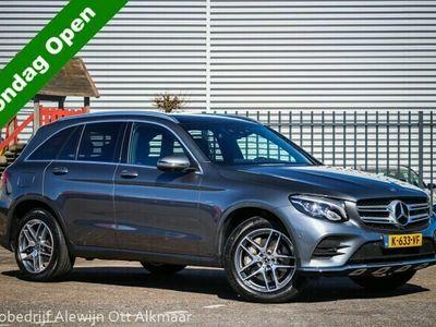 tweedehands Mercedes GLC350 4MATIC Business Solution AMG | LUCHTVERING | PANORAMADAK | LEDER |