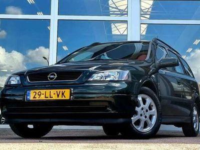 tweedehands Opel Astra Wagon 1.6i 8V Njoy IJskoude Airco Rijdt en schakel