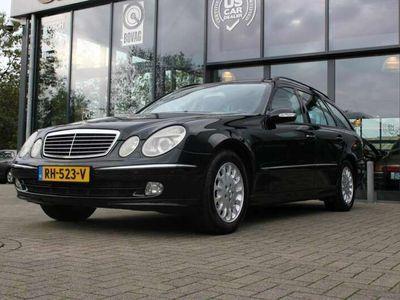 tweedehands Mercedes E320 CDI AVANTGARDE COMBI, YOUNG TIMER, Memory, schuif