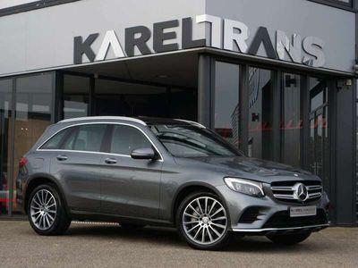 tweedehands Mercedes GLC250 GLC| 4Matic | AMG | distronic+ | luchtvering | panorama | burmester | Volle