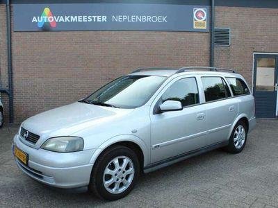 tweedehands Opel Astra Wagon 1.8-16V Njoy Airco,Trekhaak Bj 2003 APK 07-2