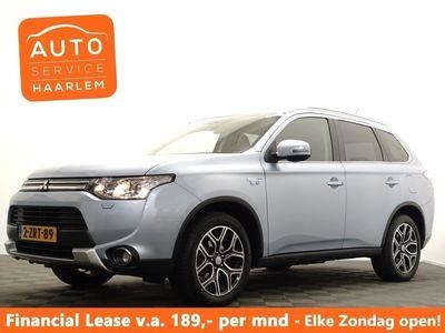 tweedehands Mitsubishi Outlander 2.0 PHEV Executive X-Line 4WD Aut Navi Xenon Hleer Camera LMV