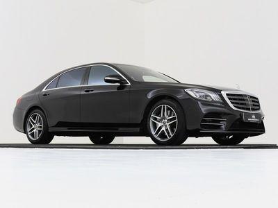tweedehands Mercedes S560 Limousine 4 MATIC 9G-TRONIC 470PK LANG PREMIUM PLU