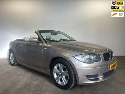 tweedehands BMW 118 Cabriolet 118i High Executive NL AUTO