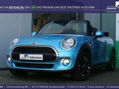 tweedehands Mini Cooper Cabriolet 1.5 Pepper Automaat Έlectric Blue