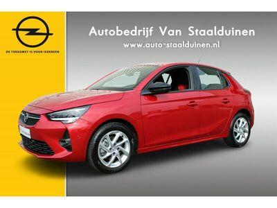 tweedehands Opel Corsa 1.2 GS Line 100pk Airco| Premium kleur| Lichtmetalen velgen| Navigatie| Panorama camera| Park Pilot v+a
