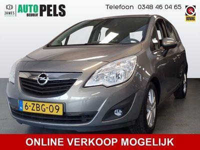tweedehands Opel Meriva 1.4 Turbo Cosmo Navigatie, Pdc, Lm velgen, Elek ramen, Cruise controle, Enz PRIJS INCL 6 MND BOVAG.