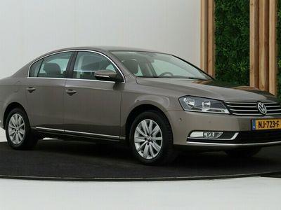 tweedehands VW Passat 1.4 TSI Highline EcoFuel | Aut | Leder | Navigatie | Cruise Control | Trekhaak