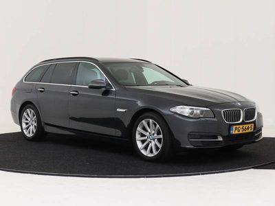 tweedehands BMW 525 5 Serie d AUTOMAAT HARMAN KARDON LEDER NAVIGATIE PROFESSIONAL SPORTSTOELEN