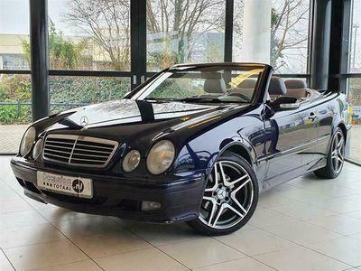 tweedehands Mercedes 200 CLK-KLASSE CabrioletK. Elegance Automaat | Youngtimer
