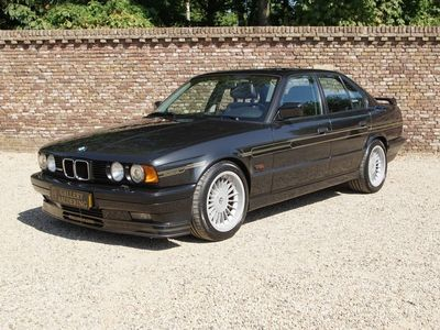 tweedehands Alpina B10 BMWBi-Turbo E34 very rare one of only 507 made manual 5-speed t