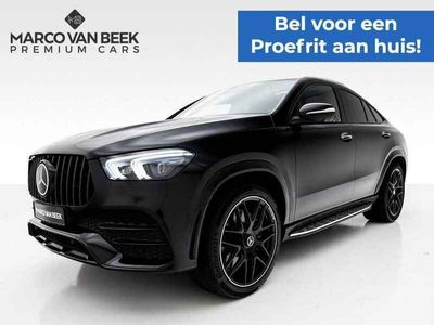 tweedehands Mercedes 400 GLE Coupéd 4MATIC Premium Plus AMG Nw. Prijs € 153.244 Pano Burmester Night Distronic Geïnteresseerd?