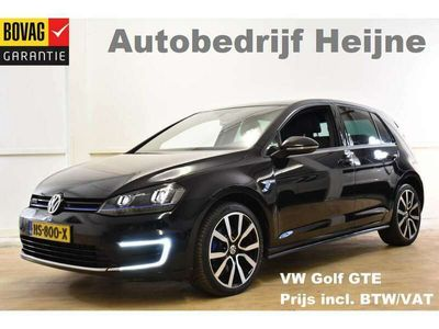 tweedehands VW Golf GTE 204PK DSG SPORT NAVI/ECC/PDC/LMV/CAMERA