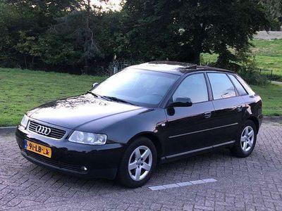 tweedehands Audi A3 1.6 Ambition 2002 Leer! Schuif/kantel-dak! Cruise