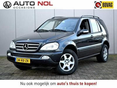 tweedehands Mercedes 500 M-KlasseV8 Xenon Έlectric Schuif/Kantel Stoelverw Clima Leder Youngtimer