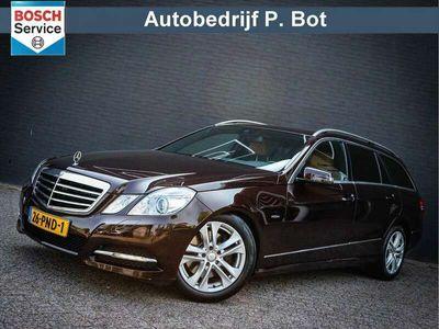 tweedehands Mercedes E350 Estate CDI Avantgarde Dealer onderhouden!