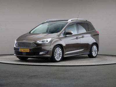 tweedehands Ford Grand C-Max 1.0 Titanium, Navigatie, Panoramadak