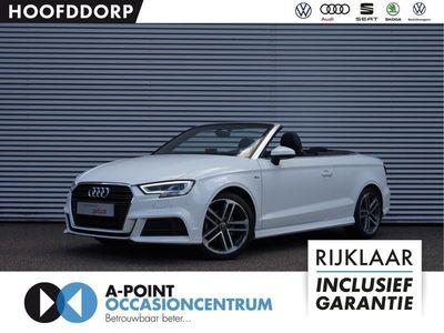 tweedehands Audi A3 Cabriolet 1.4 TFSI 150pk CoD Ambition Pro Line S / Automaat / 2x S-Line / LED koplampen / MMI Navigatie / Deels leder / Nieuw model!