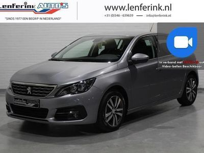 tweedehands Peugeot 308 1.5 BlueHDi Allure 131pk Connected Apps, PDC V+A, Cruise, Climate Control