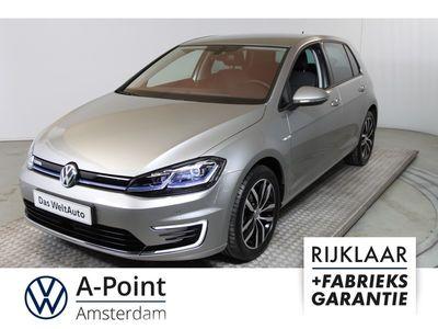 tweedehands VW e-Golf e-Golf / INCL BTW / € 24.750,- EX BTW!!!!-/- € 2.000,- overheidsubsidie !!!!