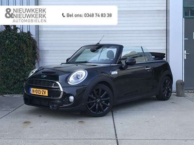 tweedehands Mini Cooper S Cabriolet 2.0 192 PK Chili Serious Business | NAVI | CLIMATE