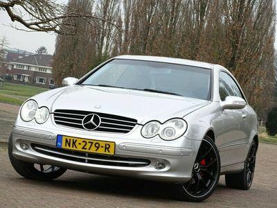 tweedehands Mercedes 240 CLK-Klasse CoupéV6 / automaat / Elegance AMG