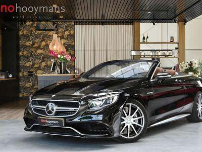 tweedehands Mercedes S63 AMG AMG Cabriolet 4MATIC NP € 284k SWAROVSKI+CARBON+BURMES