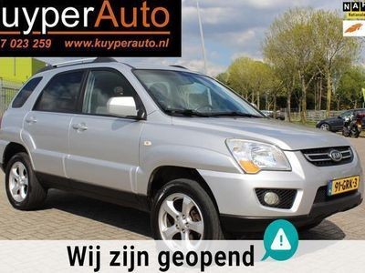 tweedehands Kia Sportage 2.0 CVVT X-tra airco .nw apk .garantie