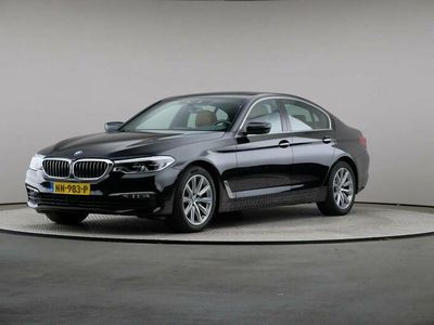 tweedehands BMW 520 5 Serie d High Executive, Automaat, LED, Leder, Navigatie, Schuifdak