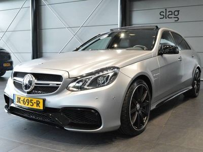 tweedehands Mercedes E63 AMG S 4MATIC navi pano led leer camera 19 inch 585 pk