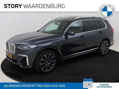 tweedehands BMW X7 40i High Executive M Sport Automaat / Panoramadak Sky Lounge / xOffroad Pack / Laserlicht / Head-Up / Bowers & Wilkins / Massagefunctie / Stoelverwarming / 6 Zitplaatsen