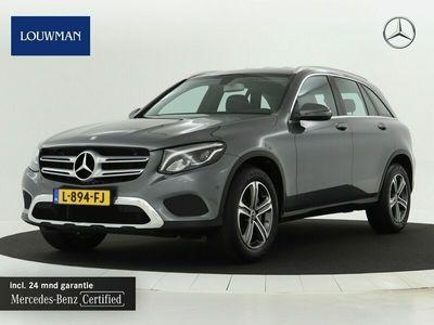 tweedehands Mercedes 250 GLC-KLASSE4MATIC Exclusive Navigatie   Achteruitrij camera   Exclusive Interieur   Stoelverwarming. Inclusief 24 MB Premium Certified garantie voor Europa.