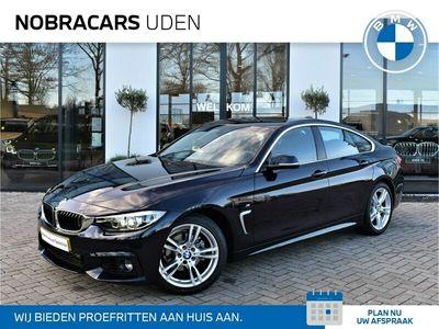 tweedehands BMW 418 4-SERIE Gran Coupé136 pk M Sport Executive Automaat / ONDERHOUDSCONTRACT / Schuifdak / Navigatie Professional / DAB-Tuner / Alcantara bekleding / Sportstoelen / 18 inch LMV /